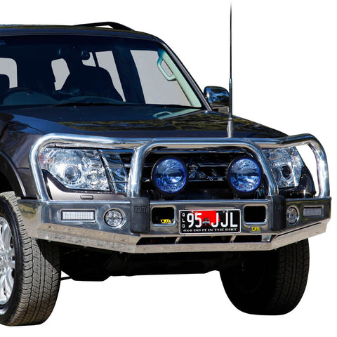 T15 Signature Alloy Winch Bar Pajero NX 6/14+  (req sup kit)