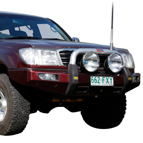 T3 Explorer Steel Winch Bar Toyota LC100 IFS 11/02-10/07