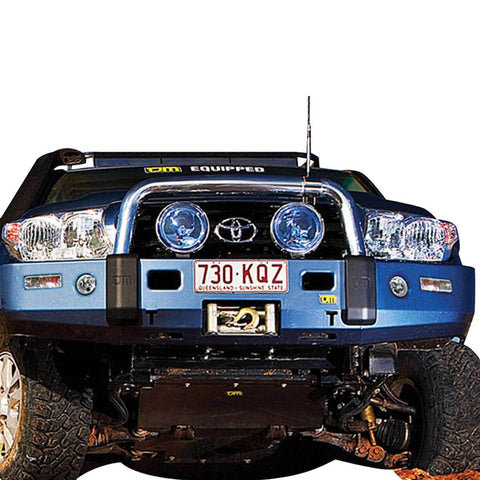 T3 Explorer Steel Winch Bar Toyota LC200 9/07-8/15