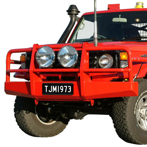 T13 Budget Steel Winch Bar Toyota LC75/78/79 6cyl pre3/07 (winch frame req)