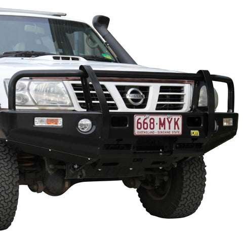 T13 Outback Steel Winch Bar Patrol GU S3 Wagon & Ute