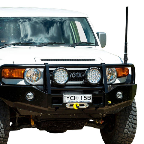 T13 Outback Steel Winch Bar FJ Cruiser