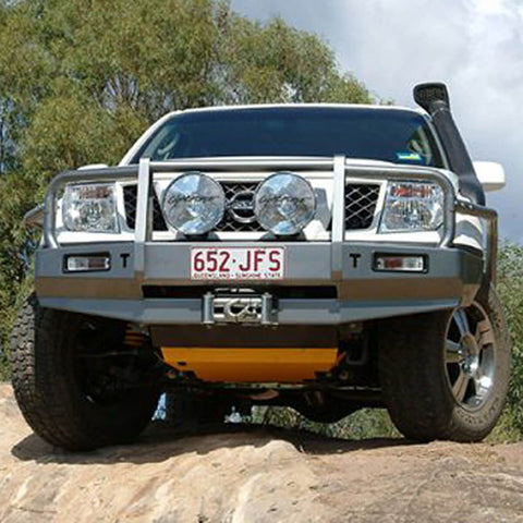 T13 Outback Steel Winch Bar Nissan D40/R51 pre1/10 Spanish