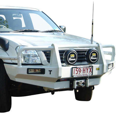 T13 Outback Steel Winch Bar Rodeo 2/03-11/06