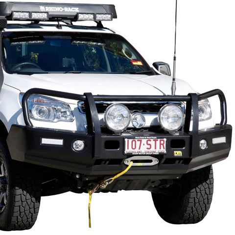T13 Outback Steel Winch Bar Colorado RG Ute 6/12-8/16