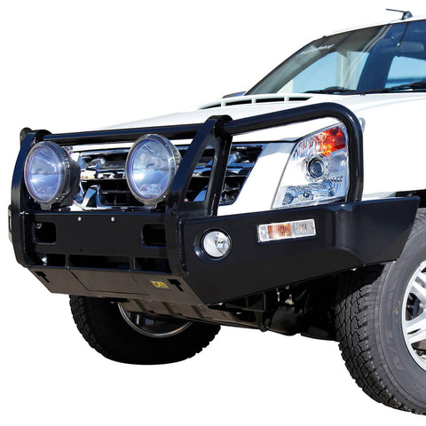 T13 Outback Steel Winch Bar Rodeo RA7/Dmax pre 5/12