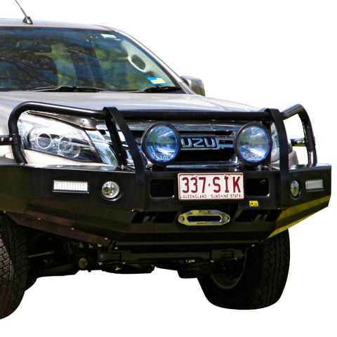 T13 Outback Steel Winch Bar Isuzu Dmax 6/12-1/17