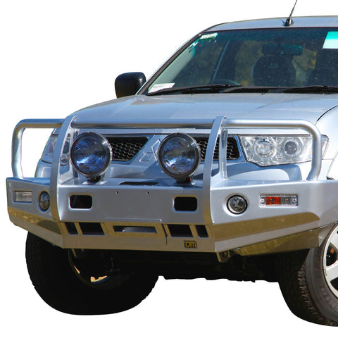 T13 Outback Steel Winch Bar Challenger PB 12/09-6/13