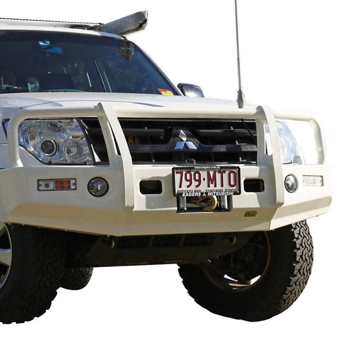 T13 Outback Steel Winch Bar Pajero NS/NT/NW 11/06-6/14