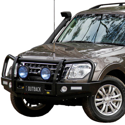 T13 Outback Steel Winch Bar Pajero NX 6/14+  (req sup kit)