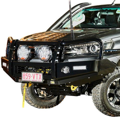 T13 Outback Steel Winch Bar Hilux 9/15-5/18 Widebody & Fortuner 9/15+