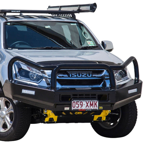 T15 Tradesman Steel Winch Bar Isuzu Dmax 1/17+