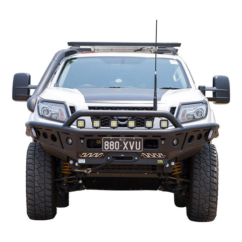 Chaser Series Steel Bull Bar Navara NP300 6/15+