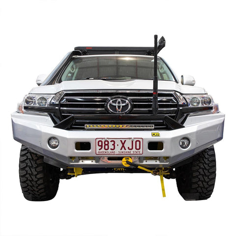 Venturer T24 Steel Winch Bar Toyota LC200 8/15+ Black P/C