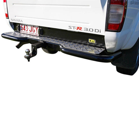 Rear Step Towbar Navara D22 D/C 8/01-2/09 Japanese built models