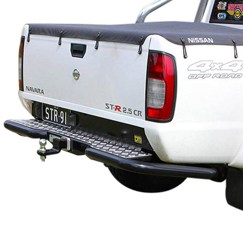 Rear Step Towbar Navara D22 D/C 3/09+  Thai built models