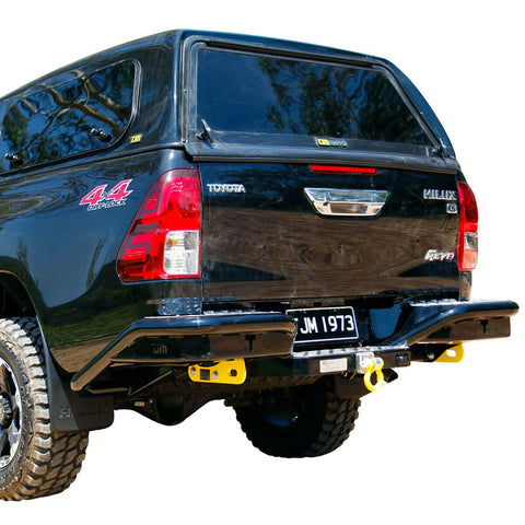 Rear Step Towbar Hilux D/C 9/15+