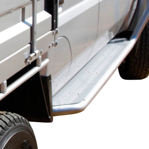 Modular Sidebar Steps LC78/79 Dual Cab/Troopy 3/07+ 63mm Tube