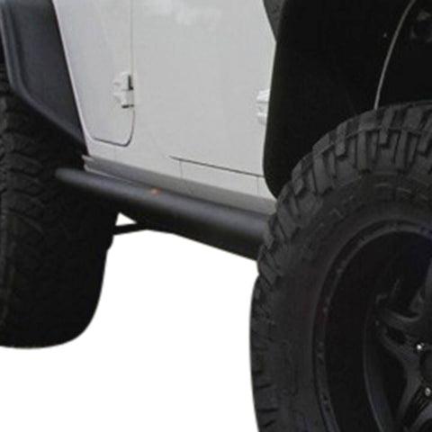 Rock Slider Rails Jeep Wrangler JK 4 Door 63mm Tube