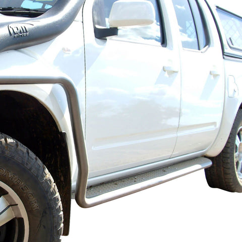 Side Protection Bars and Steps Nissan D40 D/C 05-09 Spanish (10L Bar)
