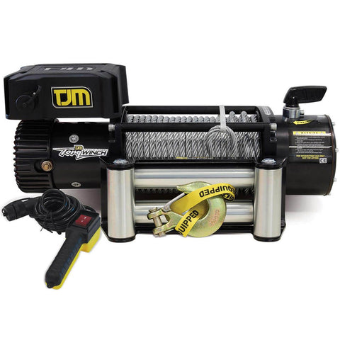 TJM Torq Winch 12000LB inc. Steel Cable