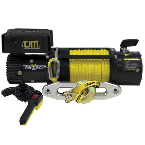 TJM Torq Winch 9500LB inc Synthetic Rope