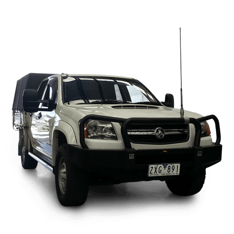 Clearview Towing Mirrors [Next Gen; Pair; Manual; ] - Holden Colorado 2002 to 2011 | Isuzu D-Max 2002 to 2011 | Holden Rodeo 2003 to 2008