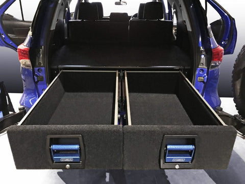 TOYOTA FORTUNER COMPLETE DOUBLE DRAWER SYSTEM