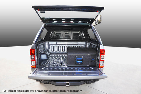 TOYOTA FORTUNER COMPLETE SINGLE LEFT DRAWER SYSTEM