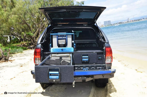 HILUX GEN7 DUAL DRAWER COMPLETE