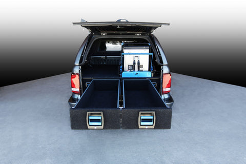 VW AMAROK DUAL DRAWERS COMPLETE