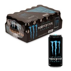 Monster Energy Drink - Low-Carb- 24/16 oz cans