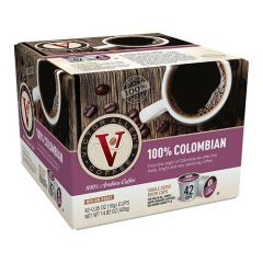 Victor Allen's - Single Serve Colombian Roast Coffee - 42ct