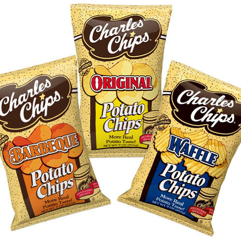 Charles Chips 9 oz Case 9 count