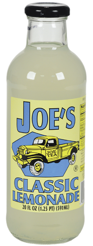 JOE TEA LEMONADE 20 OZ GLASS -12/CASE