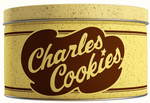 Charles Chips Chocolate Chip Cookies Tin 16 oz
