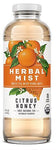 Organic Herbal Mist Glass Citrus Honey 14 oz. 12 ct.