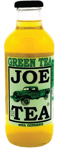 JOE TEA GINSENG GREEN 20 oz Glass -12/CASE