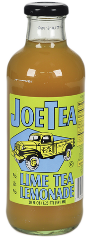 JOE TEA HALF LIME TEA 20 OZ GLASS-12/CASE