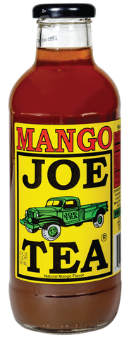 JOE TEA MANGO 20 oz GLASS-12/CASE