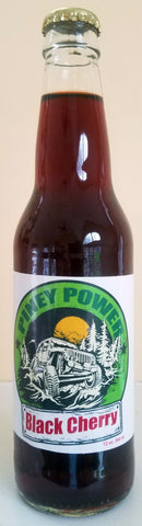 Comic Soda: PINEY POWER BLACK CHERRY 12 OZ/4 PACK 606314966805