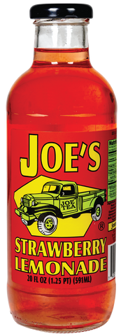 JOE TEA STRAWBERRY LEMONADE 20 oz GLASS-12/CASE