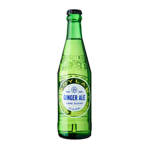 BOYLAN GINGER ALE  12 OZ -4 PACK