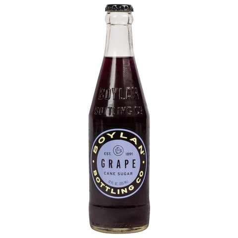 BOYLAN GRAPE  12 OZ -24/CASE