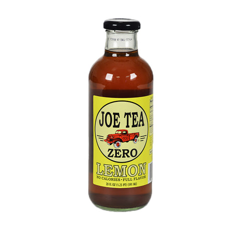 JOE TEA DIET LEMON 20 oz GLASS-12/CASE