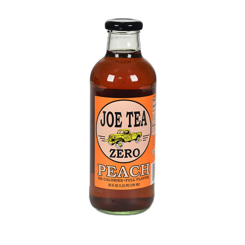 JOE TEA DIET PEACH 20 oz GLASS-12/CASE