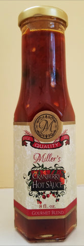 Miller's Cranberry Hot Sauce 8 oz.