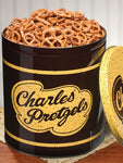 Charles Chip Pretzel 16oz. Tin