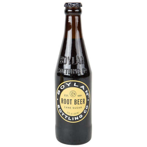 BOYLAN ROOT BEER  12 OZ - 4 PACK