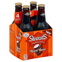 Stewart's ROOT BEER 12 oz. - 4 PACK